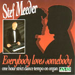 Stef Meeder: Everybody Loves Somebody (CD) hoesje
