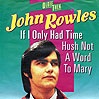 If I Only Had Time - John Rowles
