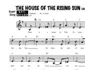 The House Of The Rising Sun - diverse artiesten