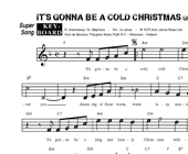 It's Gonna Be A Cold, Cold Christmas (K+O) - diverse artiesten