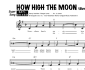 How High The Moon (K+O) - diverse artiesten