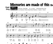 Memories Are Made Of This - Dean Martin