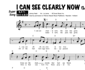I Can See Clearly Now - Lee Towers