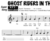 Johnny Cash: Ghost Riders In The Sky hoesje