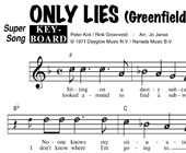 Only Lies - Greenfield & Cook