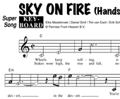 Sky On Fire - Handsome Poets