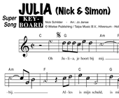 Julia - Nick & Simon