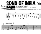 Song Of India - diverse artiesten