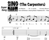 Sing - The Carpenters