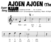 Ajoen ajoen - The Blue Diamonds