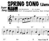 James Last: Spring Song hoesje