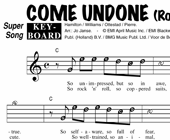 Come Undone - Robbie Williams