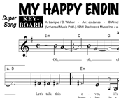 Avril Lavigne: My Happy Ending hoesje