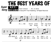 The Best Years Of My Life - The Cats