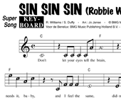 Sin Sin Sin - Robbie Williams