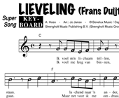 Lieveling - Frans Duijts