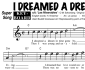 I Dreamed A Dream - Susan Boyle